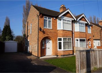 Thumbnail 3 bedroom semi-detached house for sale in Charlbury Road, Nottingham