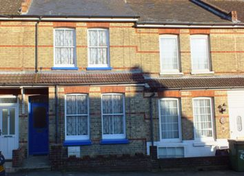 Thumbnail 2 bedroom terraced house to rent in Grove Road, Folkestone