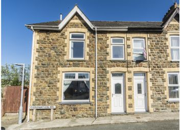 Thumbnail 3 bed end terrace house for sale in Coronation Road, Fishguard