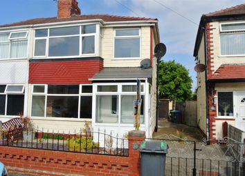 Thumbnail 3 bed semi-detached house for sale in Gretna Crescent, Thornton-Cleveleys
