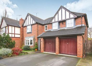 Thumbnail 5 bed detached house for sale in Clover Drive, Pickmere, Knutsford, Cheshire