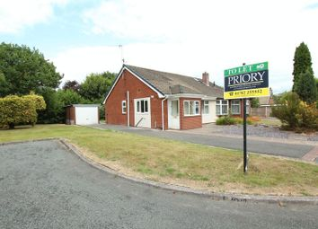 Thumbnail 3 bed semi-detached bungalow to rent in Marsh Grove, Gillow Heath, Biddulph