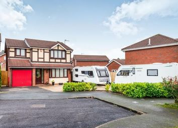 Thumbnail 4 bed detached house for sale in Hatherton Close, Waterhayes, Newcastle Under Lyme, Staffs