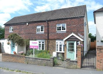 Thumbnail 2 bed semi-detached house for sale in Woodlands Road, Epsom