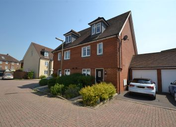 Thumbnail 4 bedroom property for sale in Newman Road, Horley