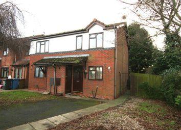 Thumbnail 2 bedroom semi-detached house to rent in Elgar Drive, Long Eaton, Nottinghamshire