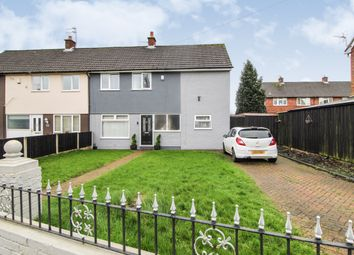 Thumbnail 4 bed semi-detached house for sale in Penmann Crescent, Halewood, Liverpool