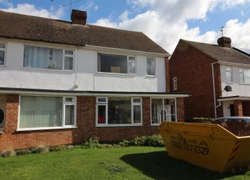 Thumbnail 2 bed semi-detached house for sale in Castle Drive, Northborough, Peterborough