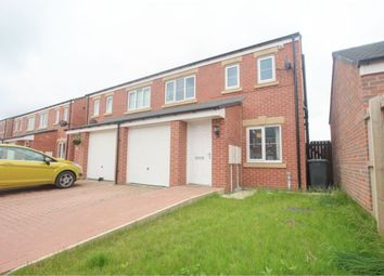 Thumbnail 3 bed semi-detached house for sale in Gatcombe Way, Newfield, Chester Le Street