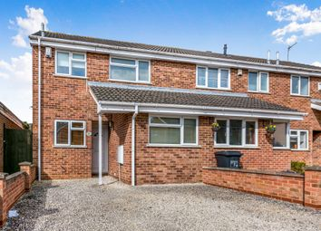 Thumbnail 3 bed semi-detached house for sale in Oleander Crescent, Cherry Lodge, Northampton