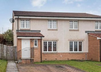Thumbnail 3 bed semi-detached house for sale in Divernia Way, Barrhead, Glasgow, East Renfrewshire