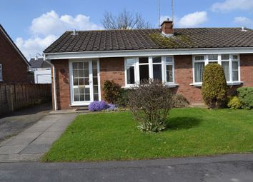 Thumbnail 2 bed semi-detached bungalow to rent in Wren Close, Woodville, Swadlincote