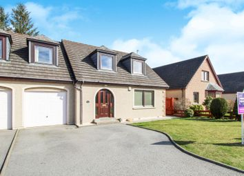 Thumbnail 3 bedroom semi-detached house for sale in Westburn Avenue, Inverurie