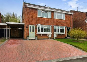 Thumbnail 2 bed semi-detached house for sale in Windsor Road, Ashby-De-La-Zouch