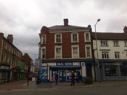 Thumbnail 1 bed flat to rent in Cross Street, Willenhall