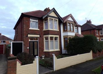 Thumbnail 3 bed semi-detached house for sale in Conway Avenue, Blackpool, Lancashire