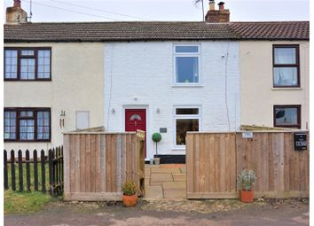Thumbnail 2 bedroom terraced house for sale in Church Road, Tilney St Lawrence, King's Lynn