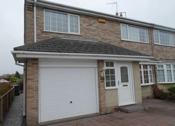 Thumbnail 3 bed semi-detached house to rent in Sycamore Road, East Leake, Loughborough