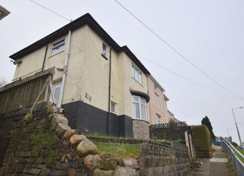 Thumbnail 3 bedroom semi-detached house for sale in Penygraig Road, Townhill, Swansea, Abertawe