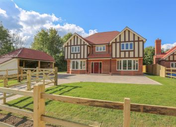 Thumbnail 4 bedroom detached house for sale in Station Road, Hellingly, Hailsham