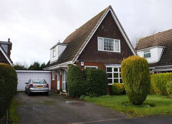 Thumbnail 3 bed detached house for sale in Glebefields Curdworth, Sutton Coldfield, West Midlands