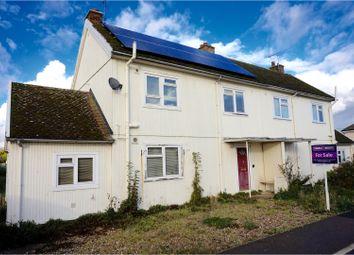 Thumbnail 3 bedroom semi-detached house for sale in Norse Avenue, Bury St. Edmunds