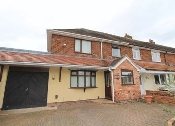 Thumbnail 4 bed semi-detached house to rent in Brookfield Road, Aldridge, Walsall