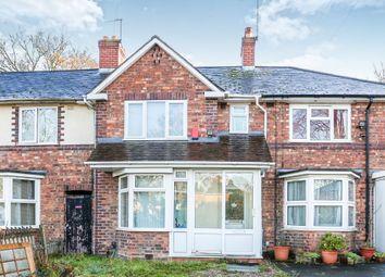 Thumbnail 3 bed terraced house for sale in Regan Crescent, Erdington, Birmingham