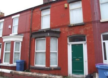 Thumbnail 3 bedroom terraced house for sale in Cranborne Road, Wavertree, Liverpool