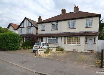 Thumbnail 3 bed semi-detached house for sale in Watersplash Road, Shepperton