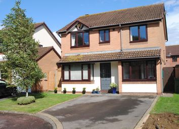 Thumbnail 4 bed detached house for sale in Alverton Drive, Bishops Cleeve, Cheltenham