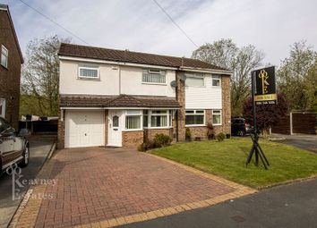 Thumbnail 4 bed semi-detached house for sale in Mortlake Close, Walkden, Manchester