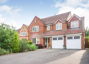 Thumbnail 5 bed detached house for sale in Horseguards Way, Melton Mowbray