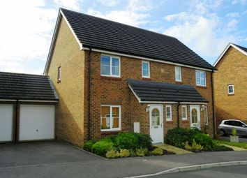 Thumbnail 3 bed semi-detached house to rent in Jersey Drive, Winnersh, Wokingham