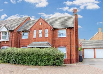 Thumbnail 3 bed semi-detached house for sale in Bennett Close, Timken, Daventry