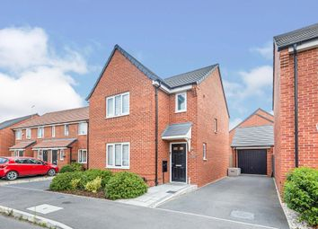 Thumbnail 3 bed detached house for sale in Upton Drive, Burton-On-Trent