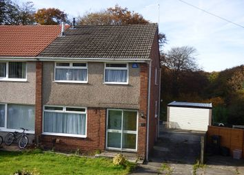 Thumbnail 3 bed semi-detached house to rent in Trevallen Avenue, Cimla, Neath .