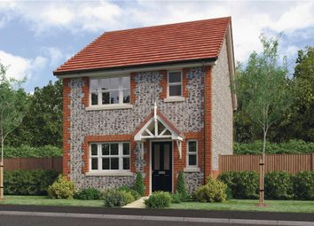 "Thumbnail 3 bed semi-detached house for sale in ""Melbourne"" at Clappers Lane, Bracklesham Bay, Chichester"