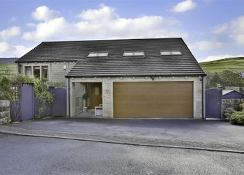 Thumbnail 5 bed detached house for sale in Moss Edge View, Holmbridge, Holmfirth