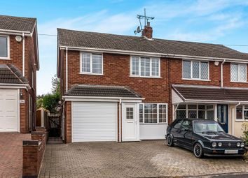 Thumbnail 3 bed semi-detached house for sale in Hawthorne Road, Cheslyn Hay, Walsall