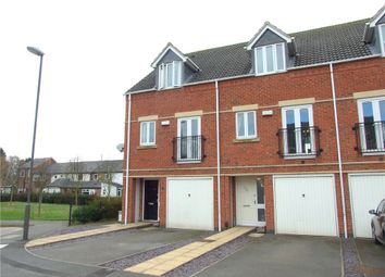 Thumbnail 3 bedroom town house for sale in Windmill Meadow, Spondon, Derby