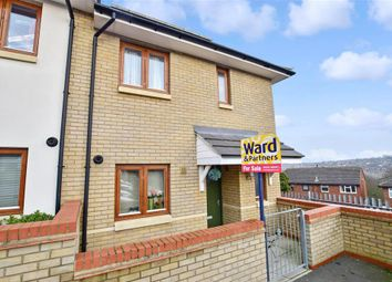 Thumbnail 3 bedroom end terrace house for sale in Rosewood Mews, Gravesend, Kent