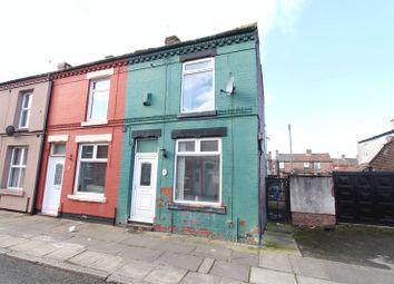 Thumbnail 2 bedroom end terrace house for sale in Kiddman Street, Walton, Liverpool