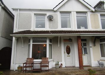 Thumbnail 3 bed semi-detached house for sale in Commercial Street, Ystalyfera, Swansea, City And County Of Swansea.