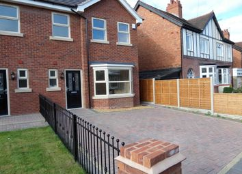 Thumbnail 4 bed semi-detached house to rent in Marchant Road, Compton, Wolverhampton, West Midlands
