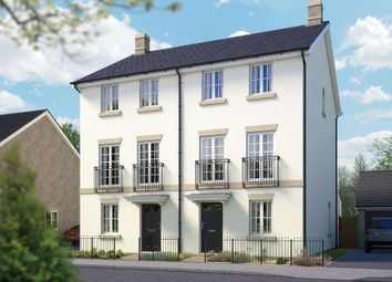 "Thumbnail 4 bed semi-detached house for sale in ""The Harrogate"" at Cleveland Drive, Brockworth, Gloucester"