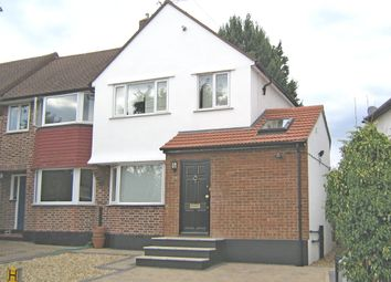 Thumbnail 3 bed end terrace house to rent in Pembury Avenue, Worcester Park