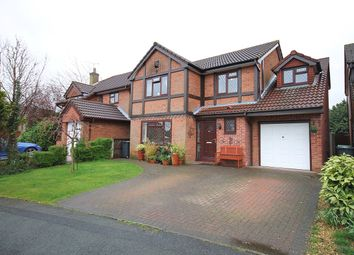 Thumbnail 5 bed detached house for sale in Norbreck Close, Great Sankey, Warrington