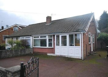 Thumbnail 2 bed bungalow to rent in Roundthorn Road, Alkrington, Manchester