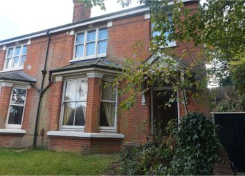 Thumbnail 5 bed semi-detached house for sale in Reigate Road, Redhill